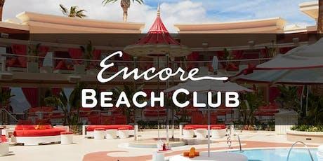 Encore Beachclub w/ALESSO tickets