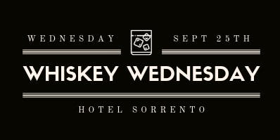 Seattle Gents present Whiskey Wednesday