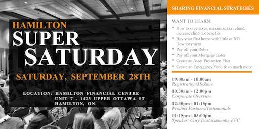 Hamilton Super Saturday: Sharing Financial Strategies