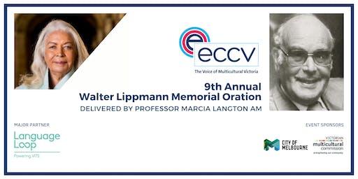 9th Annual Walter Lippmann Oration