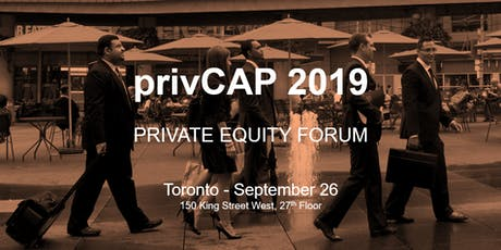privCAP 2019 - Private Capital Forum tickets