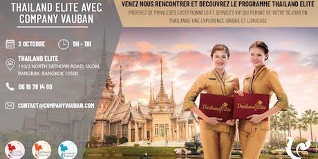 Présentation Thailand Elite avec Company Vauban - 2 Octobre 2019 tickets