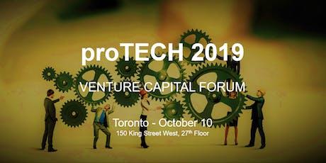 proTECH 2019 - Venture Capital Forum tickets