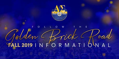 Alpha Sigma Chapter of Sigma Gamma Rho Sorority, Inc. Fall 2019 Informational  tickets