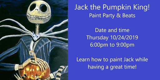 Jack the Pumpkin King: Paint Party x Beats