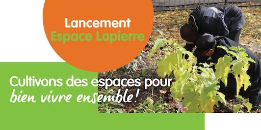 Lancement de l'Espace Lapierre