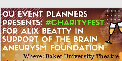 #CharityFest for Alix Beatty in support of the Brain Aneurism Foundation
