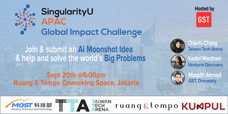 Solving Global Problems with AI: Introducing the Global Impact Challenge tickets