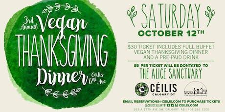 Ceilis Annual Vegan Thanksgiving tickets