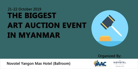 The Biggest Art Auction Event in Myanmar tickets