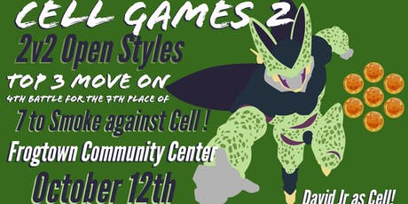 Cell Games II Dance party/competition tickets