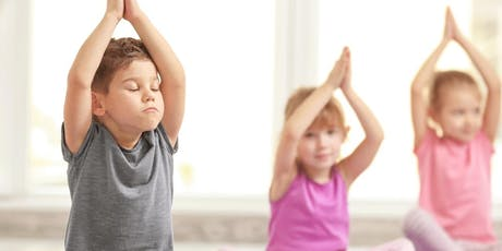 Free Kids Yoga by the Fountain tickets