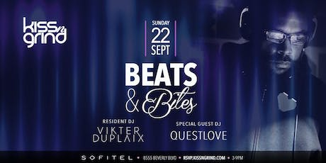 Kiss-n-Grind presents DJ Questlove w/ Vikter Duplaix tickets
