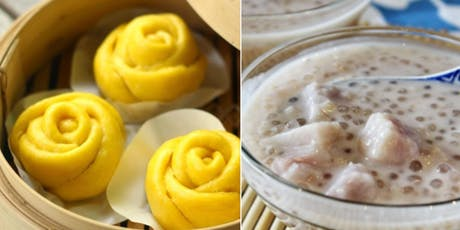 Make Sweet Pumpkin Buns w Pumpkin Spice Filling & Taro Tapioca Pudding! YUM tickets