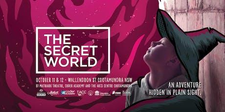 The Secret World, Cootamundra - Digital & Live Art Tour tickets