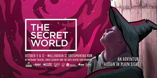 The Secret World, Cootamundra - Digital & Live Art Tour