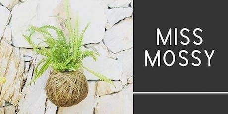 #imadeitmyself  -  kokedamas with Miss Mossy  tickets