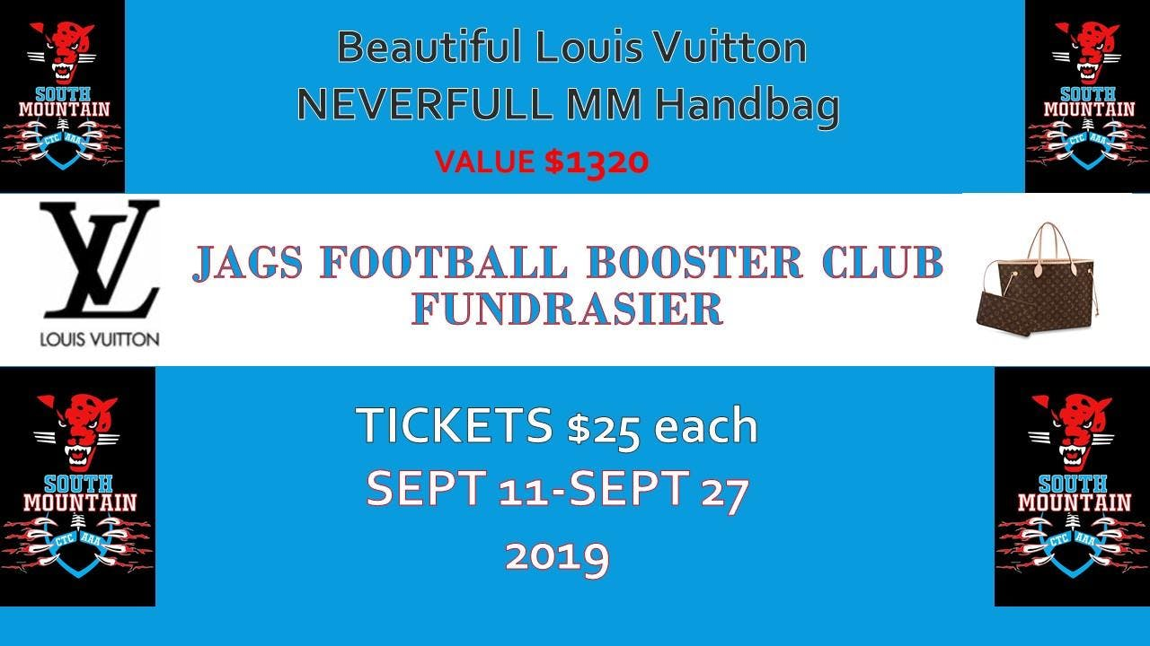 JAGS BOOSTER CLUB: Louis Vuitton Handbag Fundraiser