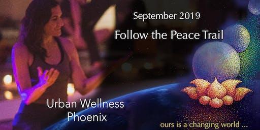 Follow the Peace Trail: Self Love, Guided Meditation Music Restorative Yoga