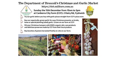 Christmas and Garlic Market by The Department of Broccoli