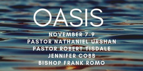 OASIS—a conference for pastors and leaders tickets
