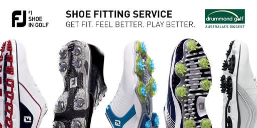 FJ Shoe Fitting Day - Drummond Golf Gosford - Thursday 17th October