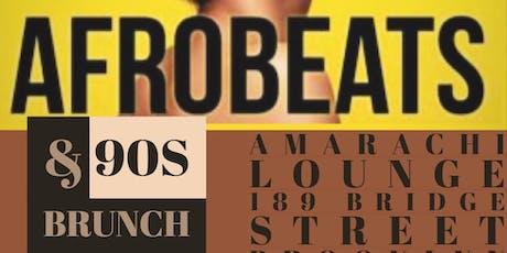 Afrobeats & 90s Brunch tickets