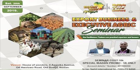 Trade Export Africa tickets