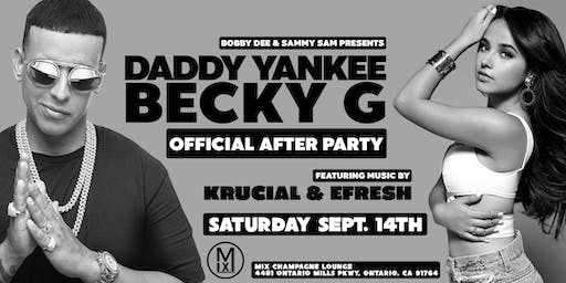 Offical After Party for Daddy Yankee and Becky G at Mix Champagne Lounge