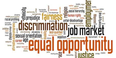 Employment Discrimination Law Workshop 101 tickets