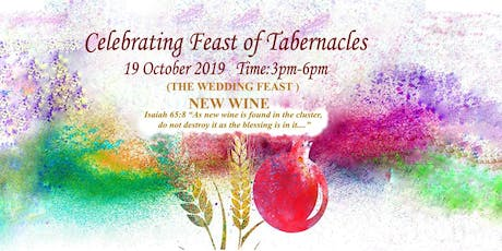 Celebrating the Feast of Tabernacles tickets