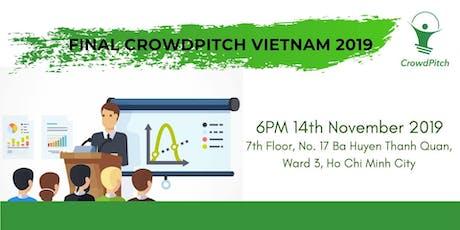 FINAL CROWDPITCH VIETNAM 2019 tickets