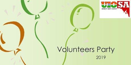 UIoSA's Volunteer Appreciation Party 2019 tickets