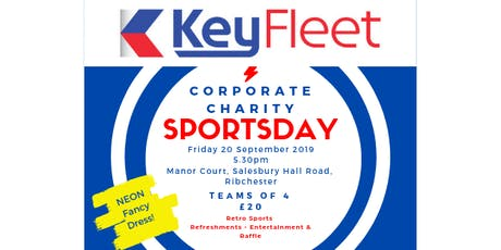 Corporate Charity Sports Day tickets