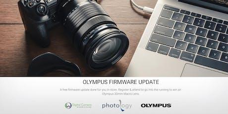 Olympus Firmware Update - Brisbane - 26/9/2019 tickets