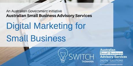 Digital Marketing for Small Business I Devonport tickets
