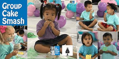 Keiki Group Cake Smash at the Oh Baby Family Expo