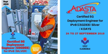 Certified 5G Deployment Engineer for IPv6 (C5GDE6) Silver / 4 DAYS tickets