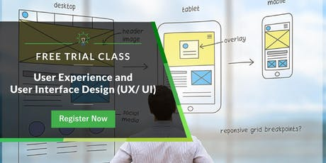 Free Trial Class: User Experience and User Interface Design (UX/UI) tickets