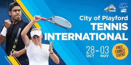 City of Playford Tennis International - FREE EVENT NO TIX REQUIRED tickets