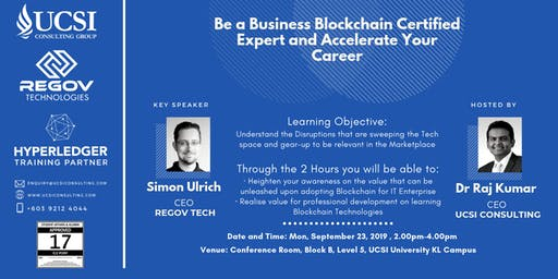 Be a Business Blockchain Certified Expert and Accelerate Your Career