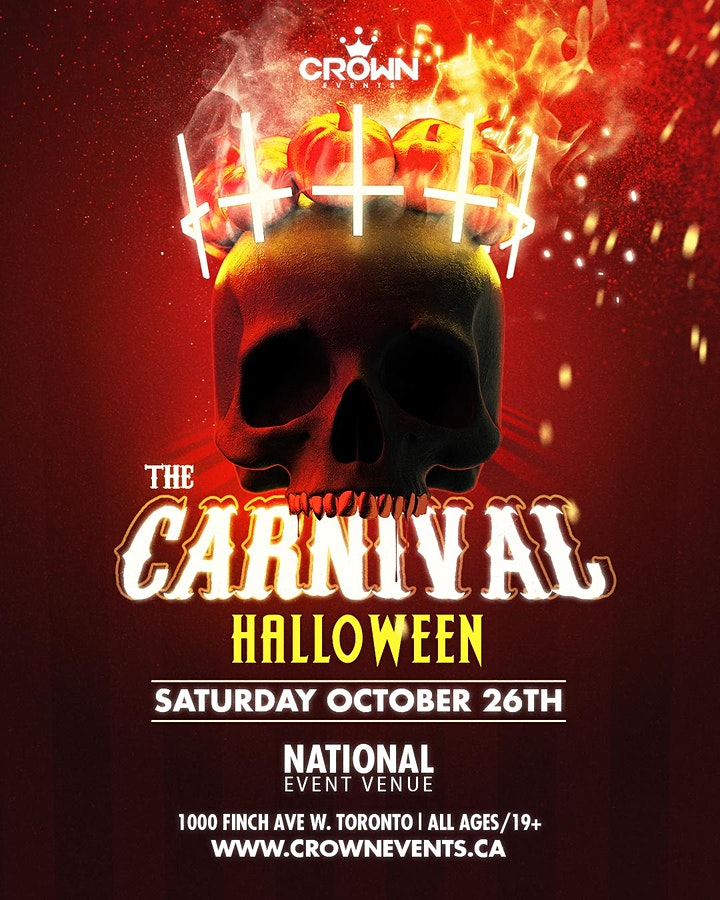 THE CARNIVAL Halloween 2019 image