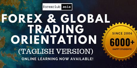 Forex & Global Trading Orientation tickets