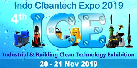 The 4th Indonesia Cleantech Expo (ICE 2019) tickets