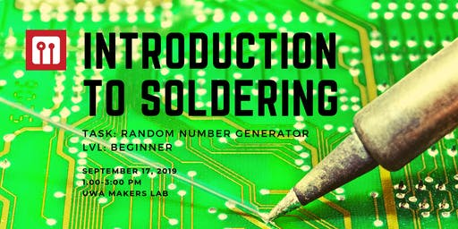UWA Makers - Introduction to Soldering