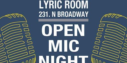LYRIC ROOM OPEN MIC w/ host JACK BESAW