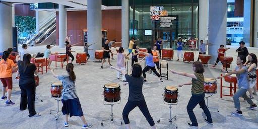 Energize@SCCC: Drumming Fitness (Oct & Nov 2019) 活力加油站:击鼓健身 (2019年10月至11月)