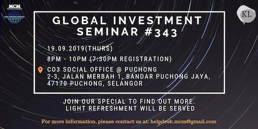 Global Investment Seminar  #343