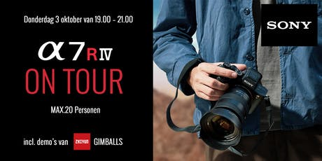 Sony A7RIV - Demo met model & zhiyun Gimbal tickets