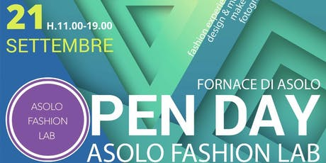 Open Day Accademia di moda Asolo Fashion Lab biglietti